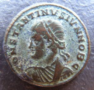 front view: 7 HELP!! Unidentified Roman Coin