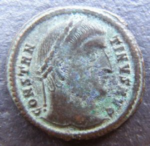 front view: 6 HELP!! Unidentified Roman Coin