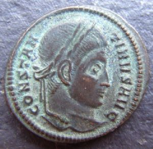front view: 2 HELP!! Unidentified Roman Coin