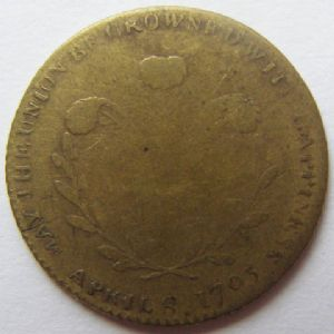 rear view: 1795 OLD TOKEN / MEDAL ?? HELP!!!