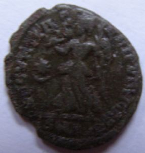 rear view: 11 11 - ROMAN COIN - HELP!!